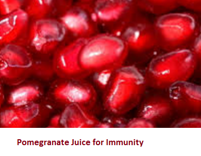Pomegranate Juice for Immunity