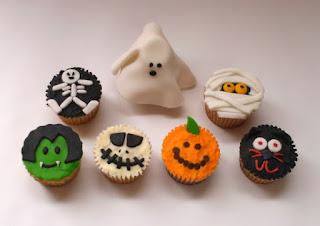 Cupcakes para Halloween