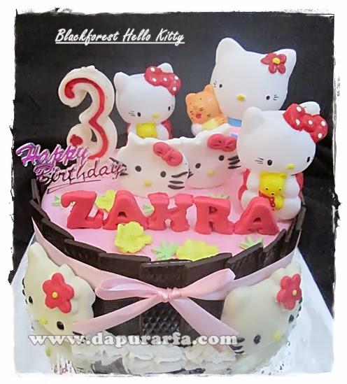 Dapur Arfa Hello Kitty Cake Untuk Zahra