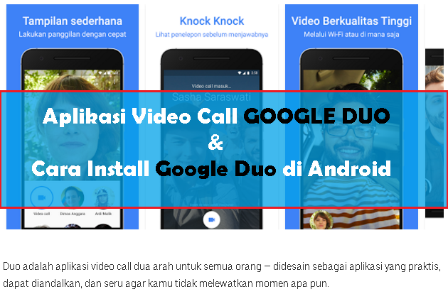 Aplikasi Video Call Sederhana Google Duo