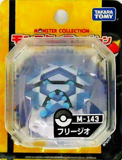 Cryogonal figure Takara Tomy Monster Collection M series