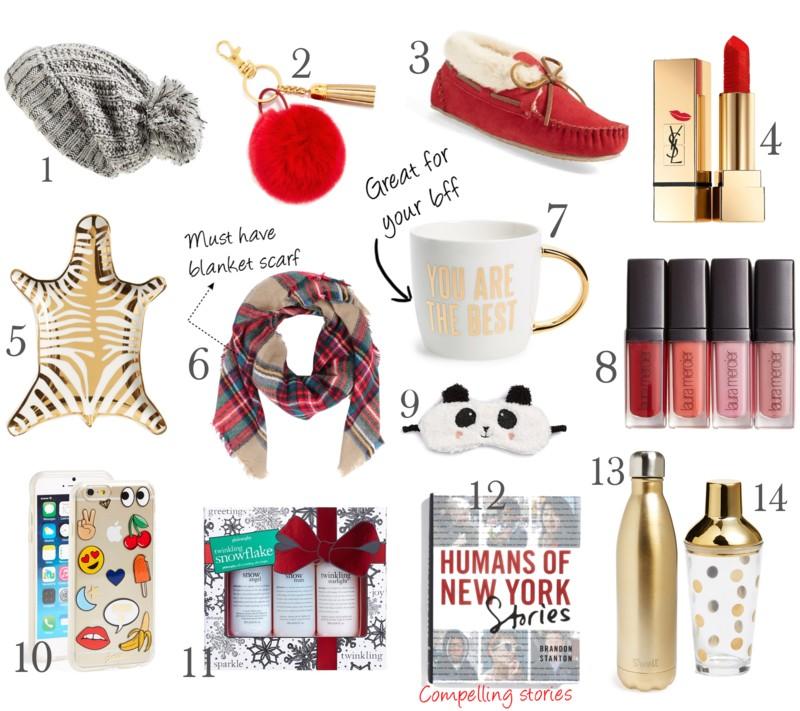 Holiday gift ideas under 50 on www.jadore-fashion.com