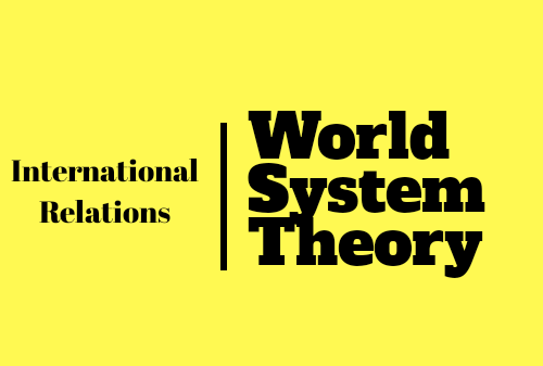 World System Theory of IR