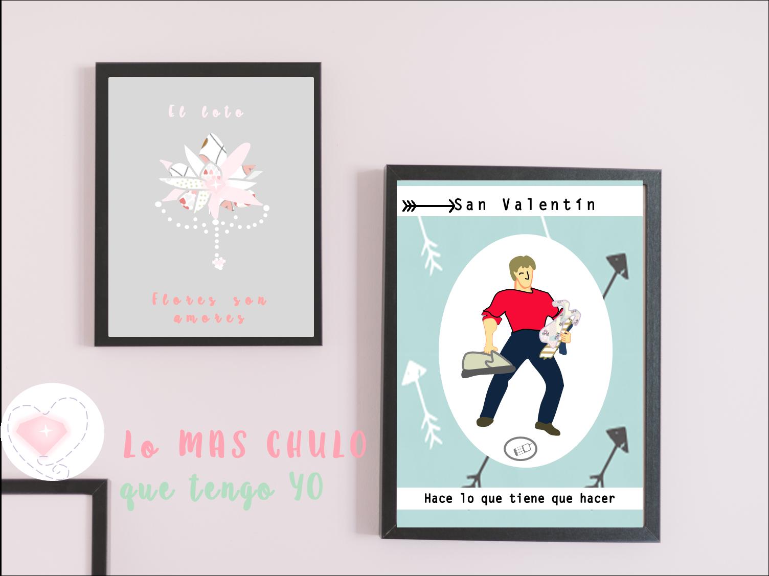 ilustraciones originales san valentin