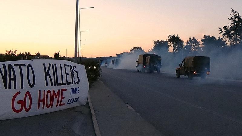 Αλεξανδρούπολη: Ολοήμερες εκδηλώσεις κατά των ΝΑΤΟϊκών στρατευμάτων