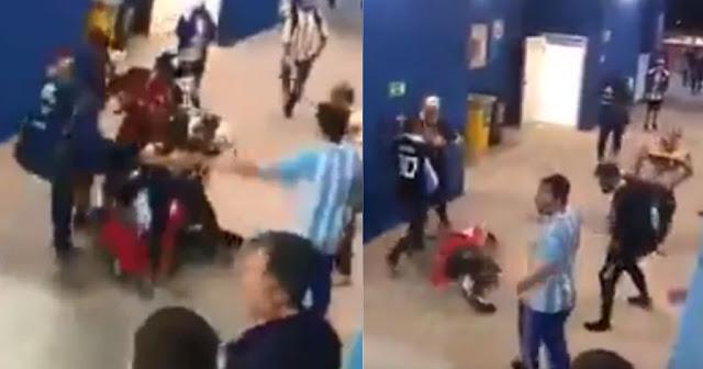 Μουντιάλ 2018: Οπαδοί της Αργεντινής σάπισαν στο ξύλο Κροάτη