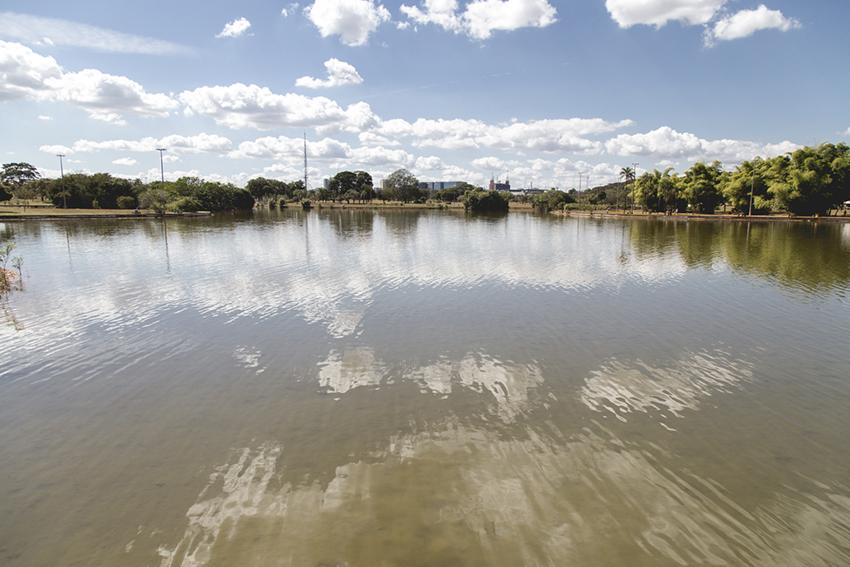 Lago do Parque da Cidade de Brasilia