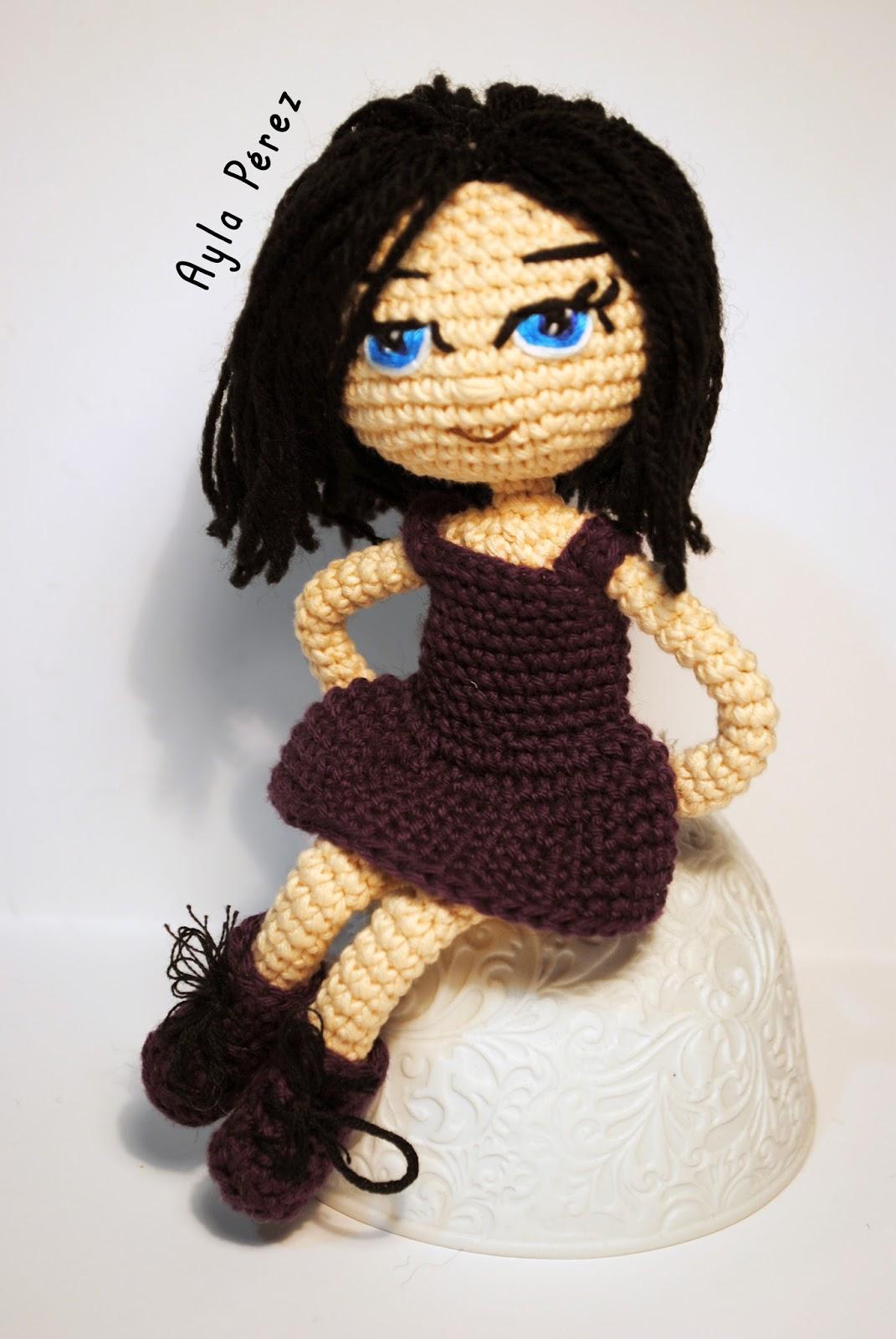 Patrón de muñeca amigurumi - Ayla\'s Crafts