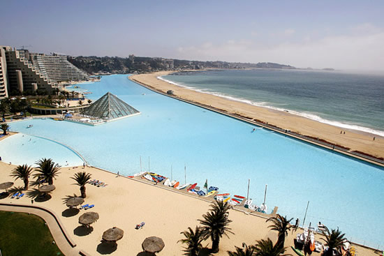 Chile's monster pool