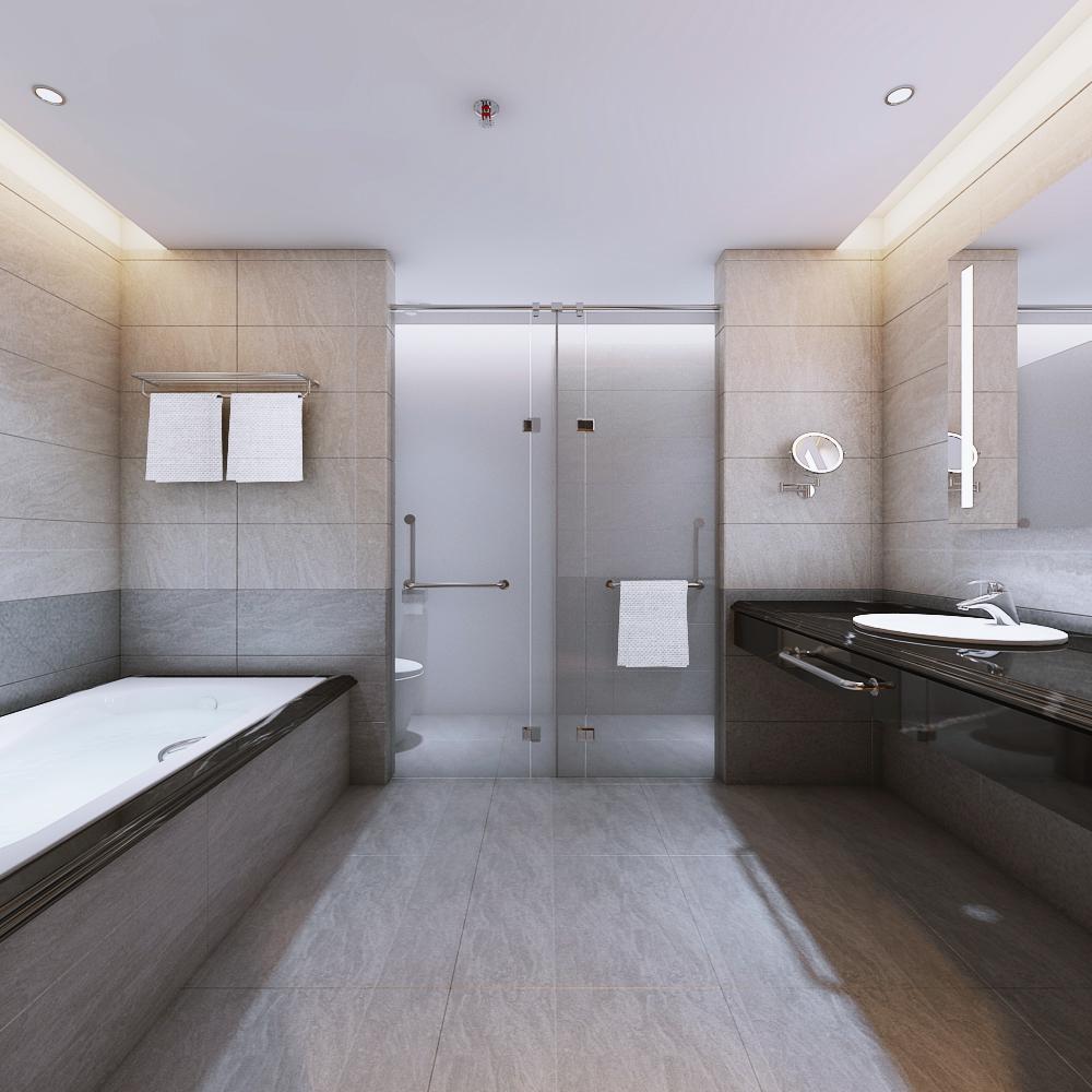 Phòng vệ sinh dự án Alphanam Luxury