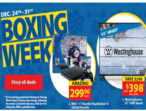Walmart Boxing Week is Live!