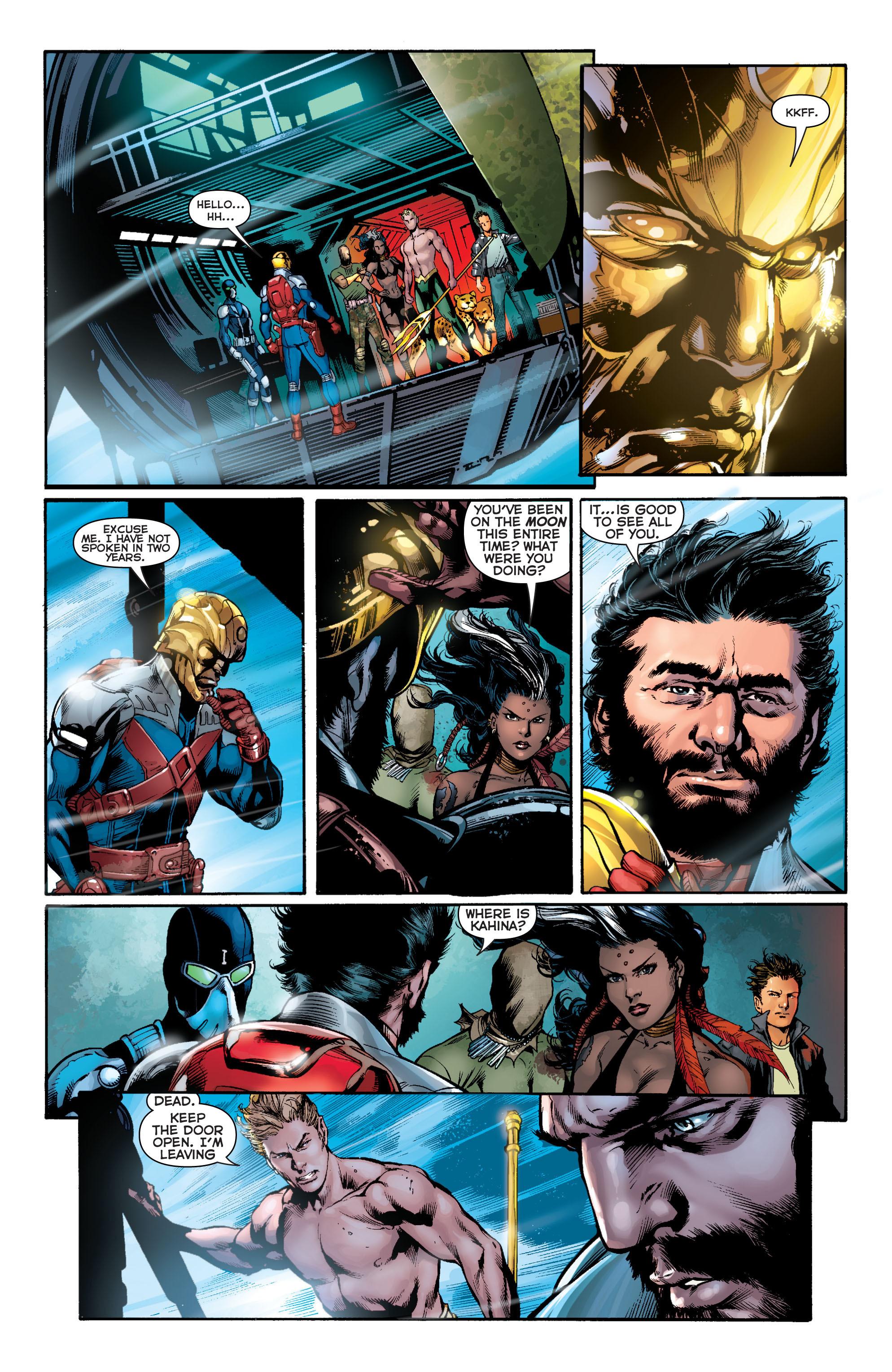 Read online Aquaman (2011) comic -  Issue #11 - 10