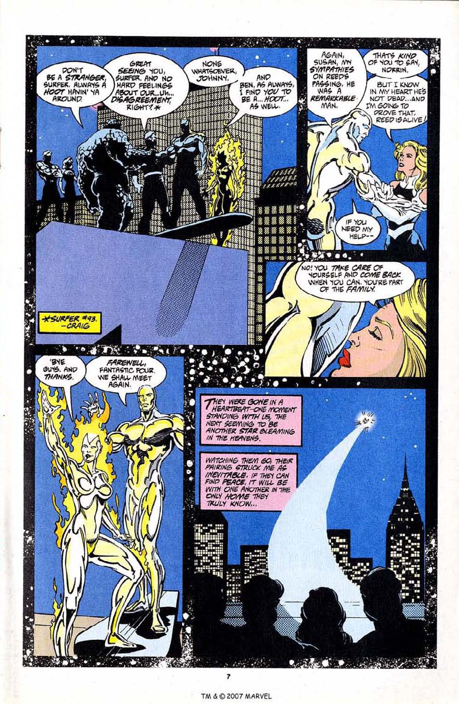 Read online Silver Surfer (1987) comic -  Issue #97 - 9