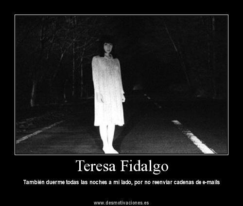 Teresa Figaldo Unfall