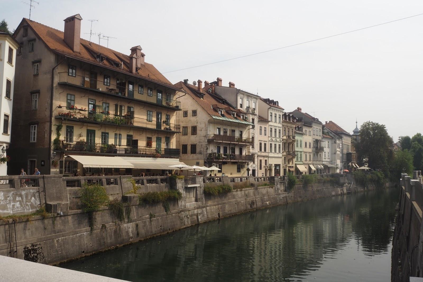 Old Town Centre, Ljubljana
