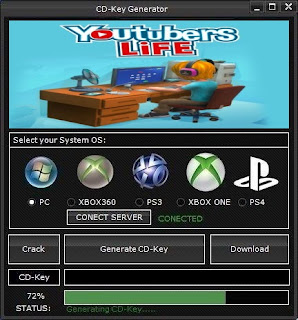 Youtubers Life Key Generator (Free CD Key)
