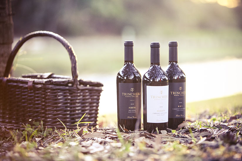 3 Bottles of Trincero Napa Valley Wine