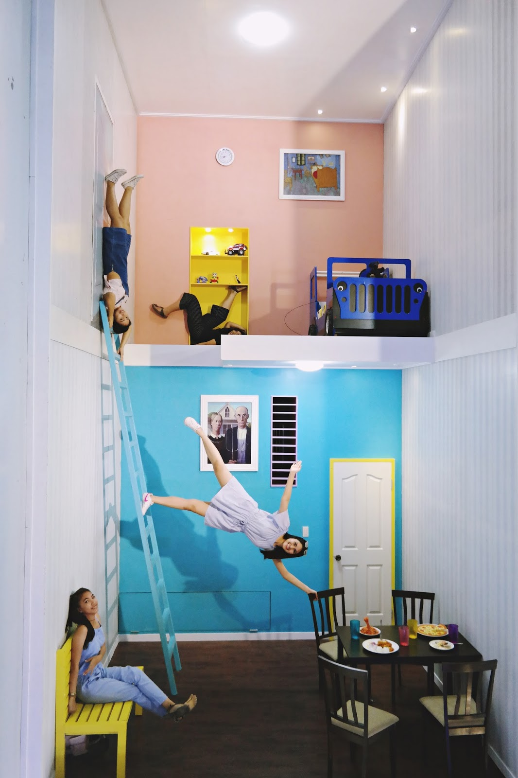 Day Dreamer And Believer: Upside Down Museum