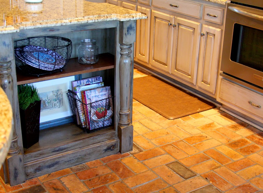 Crafty Southern Mama: Painted Kitchen Island in Annie ...