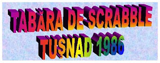 Tabara de Scrabble Baile Tusnad 1986