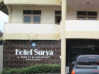 Menikmati Malam Pontianak di Hotel Surya dengan Tarif Hemat