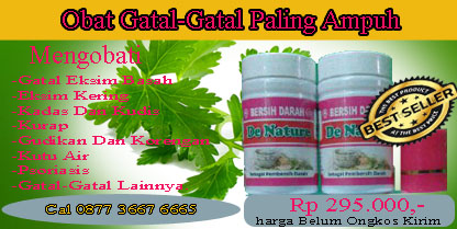 Pengobatan Gatal Herbal Alami