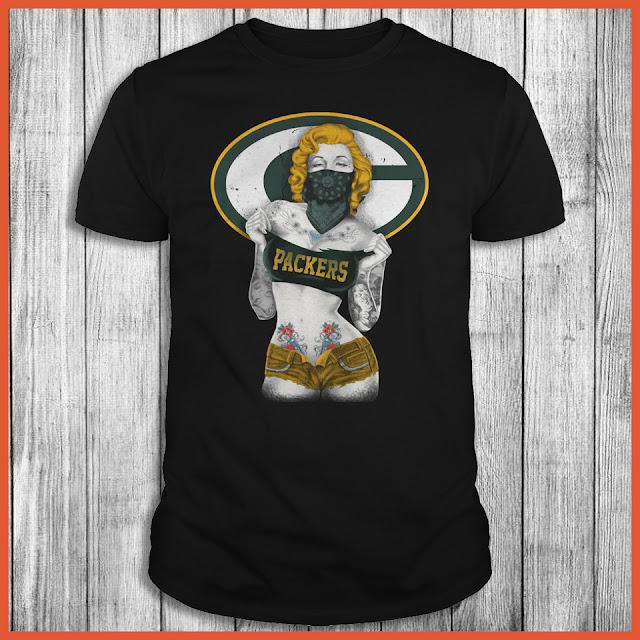 Green Bay Packers Marilyn Monroe T-Shirt