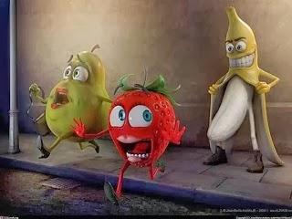 A funny practical joke cartoon picture.