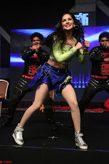 Sunny Leone Dancing on stage At Rogue Movie Audio Music Launch ~  122.JPG