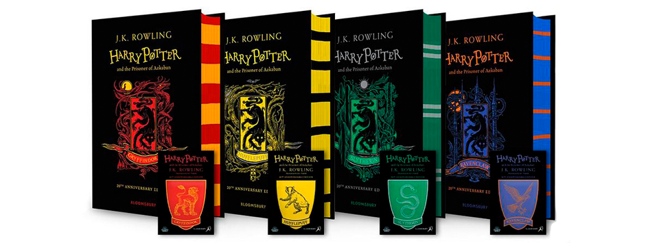 bloomsbury revela novas capas da edicao de aniversario house hogwarts bloomsbury revela novas capas da edicao