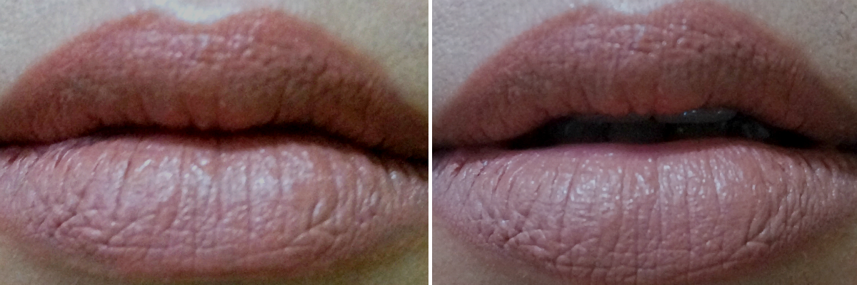 MAC Velvet Teddy vs Revlon Matte in Mauve It Over