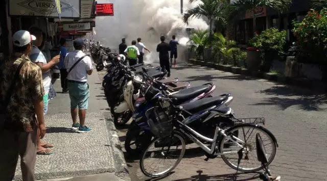 Sebuah Ledakan Dahsyat Terjadi Lagi di Bali, Kali ini di Kuta Square