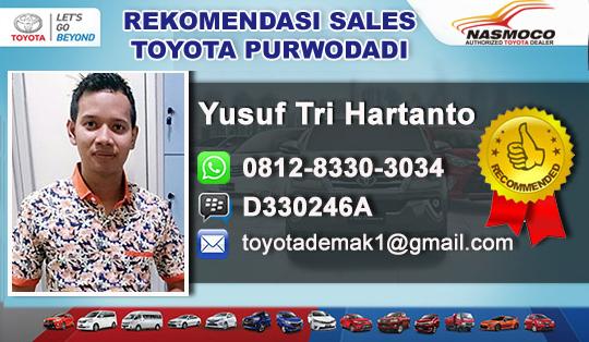 Rekomendasi Sales Toyota Purwodadi Jawa Tengah