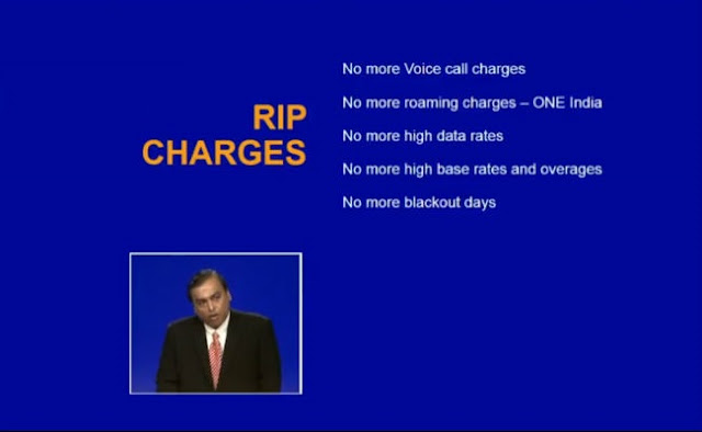 Reliance Jio Official Launch and Tariffs Plans 7 RIP Hidden Charges