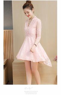 Đầm ren Mullet