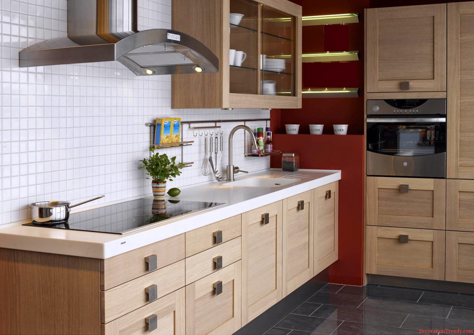 Id es pour les petites cuisines for Parquet special cuisine