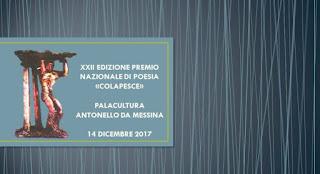 XXXII EDIZIONE DEL PREMIO INTERNAZIONALE COLAPESCE