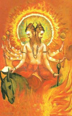 agni dio vedico fuoco