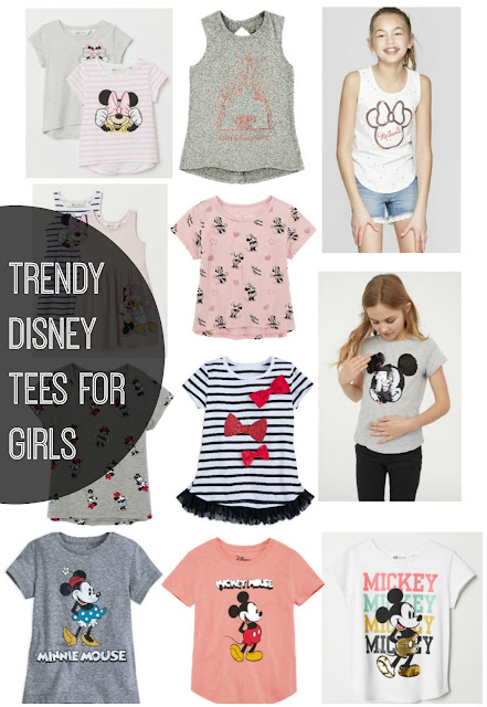 Neutral+modern+trendy+disney+shirts+for+girls