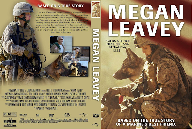 Megan Leavey DVD Cover