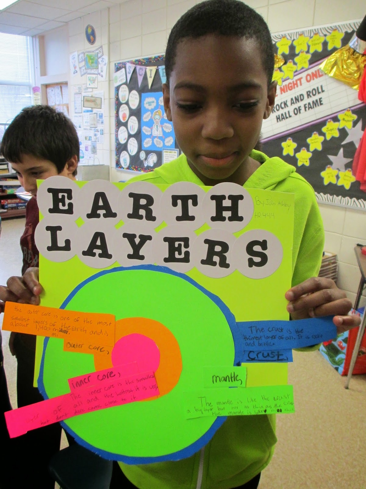 Fabulous In Fifth Scientific Saturdays Layers Of Earth
