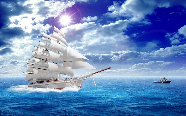 """Ý nghĩa của việc treo tranh phong thủy """"Thuận buồm xuôi gió"""""""