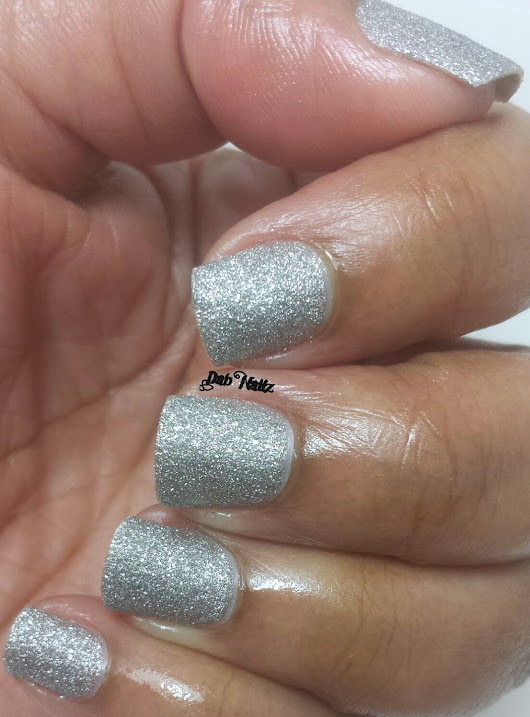 Julie G Frosted Gumdrops Holiday 2013 Collection-Silver Bells and Sugar Plum Fairy-Swatch and Review