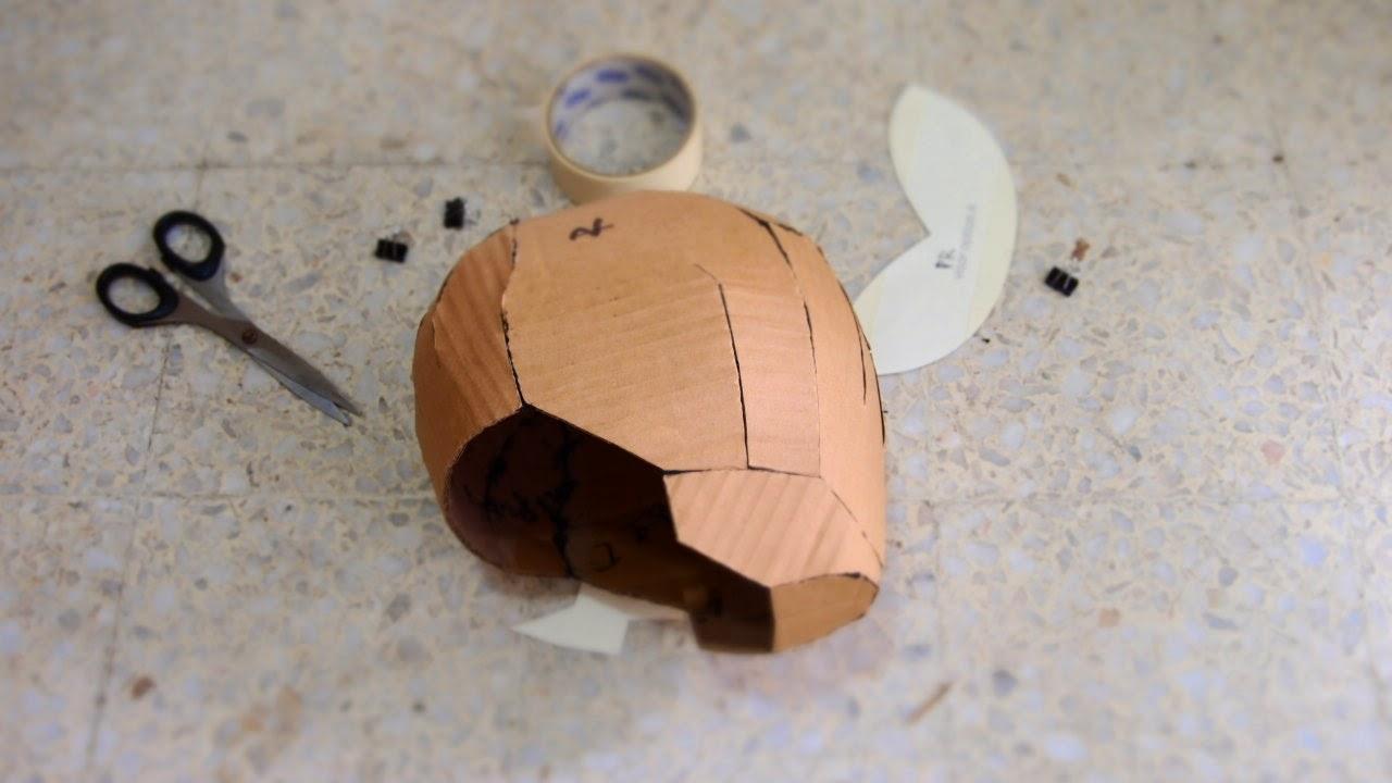 Rangers Helmet Cardboard Head For Mask Hat Wig Diy With New Template
