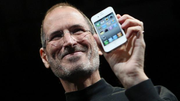 iphone presentado por Steve Jobs