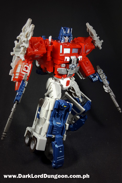 Takara Super Ginrai Powermaster Optimus Prime Review