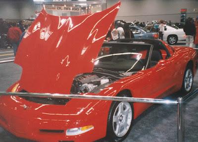 1997 Chevrolet Corvette at the 1997 Portland International Auto Show