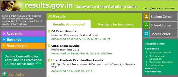 show ssc result 2011