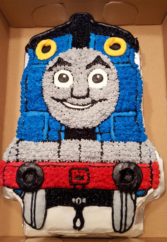4 Year Old Birthday Tranport A Couple Weeks Ago The Volunteer Service I Run In My Area Delivered Thomas Train Cake
