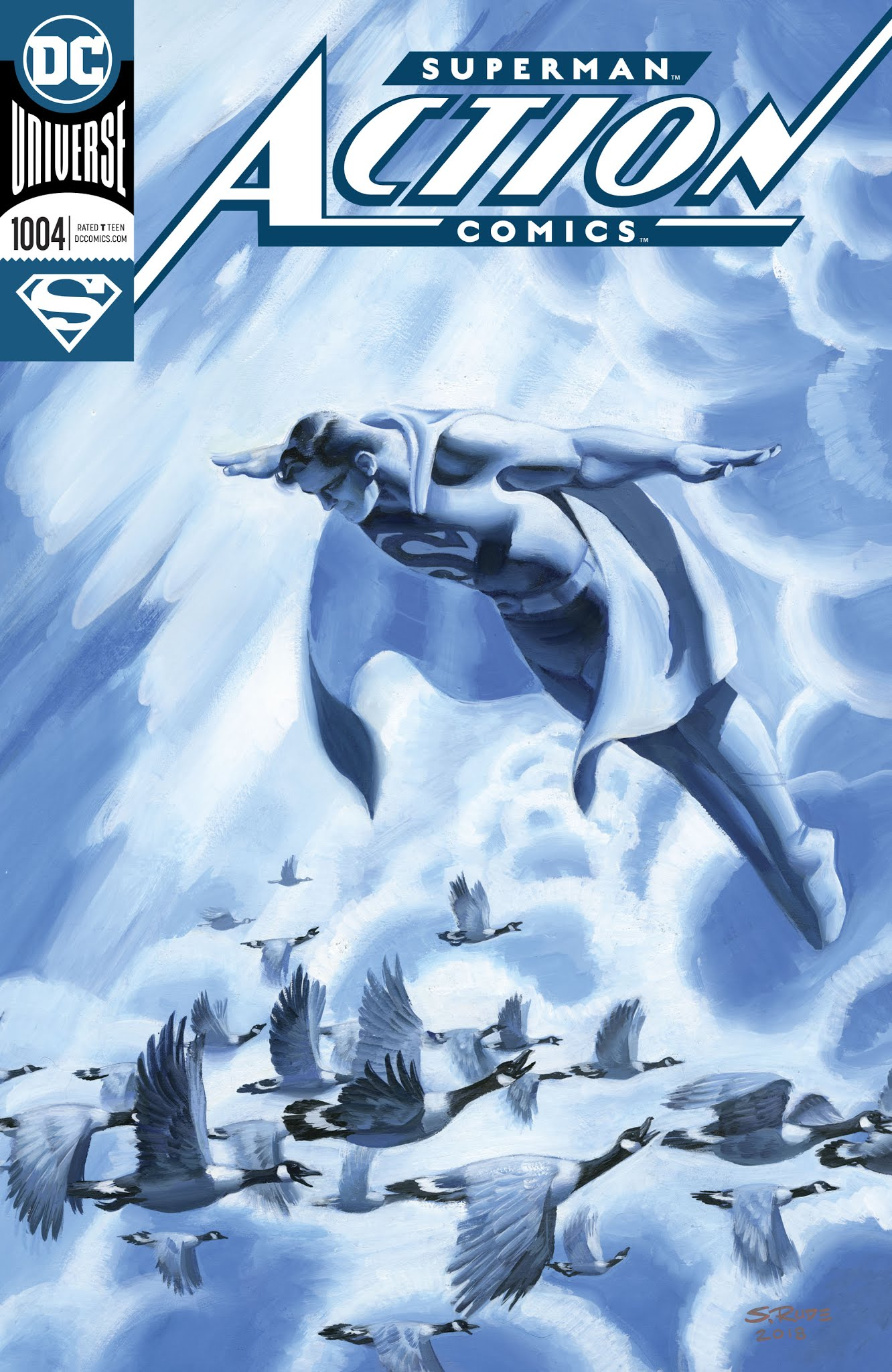 Action Comics (2016) 1004 Page 1